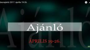 Műsoraink április 19-26.