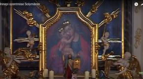 Kitelepítési szentmise Solymáron