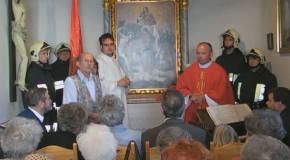 Mise a Szent Flórián kápolnában