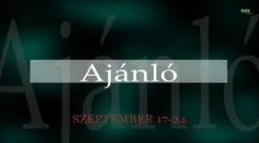 Műsorajánló 2014. szeptember 17-24.