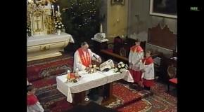 Karácsonyi szentmise 1998.
