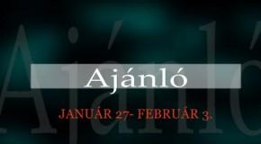 Műsoraink január 27 – február 3.