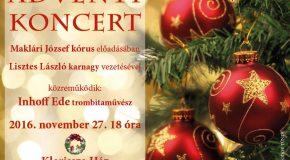 Andventi koncert Piliscsabán