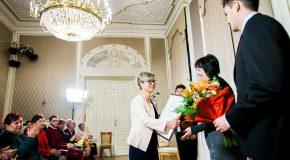 Családháló díjat kapott  dr. Nagy-Szakáll Zsuzsanna