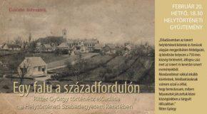 Egy falu a századfordulón