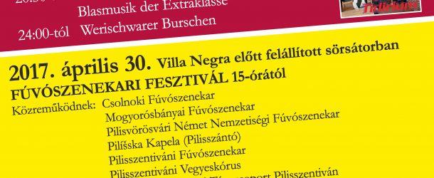 Fúvószenekari fesztivál Pilisszentivánon