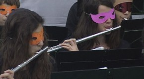 A zeneiskola farsangi koncertje