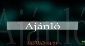 Műsoraink január 24-31.