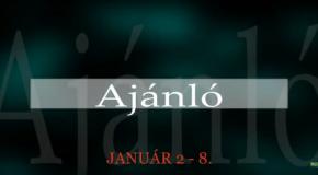 Műsoraink január 2-8.