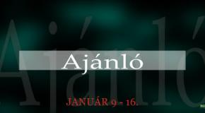 Műsoraink január 9-16.