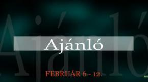 Műsoraink február 6-12.