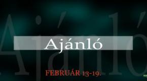Műsoraink február 13-19.