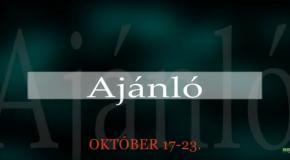 Műsoraink október 17-23.