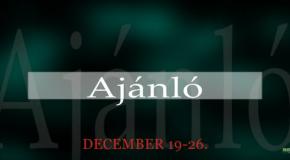 Műsoraink december 19-26.