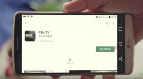 PilisTV applikáció
