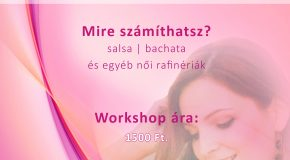 Latin táncos workshop Vörösváron
