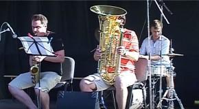 A Bazsinka Trio és a Páduai iskola diákjai a Csaba-napokon