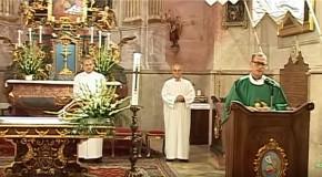 Búcsúnyitó szentmise Solymáron