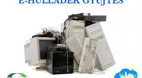 Falutakarítás és e-hulladékgyűjtés