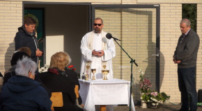 Szentmise a Fatimai kápolnánál