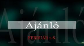 Műsoraink Február 1-8.