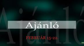 Műsoraink február 15-22.