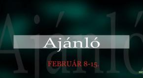 Műsoraink február 8-15.