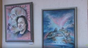 Bari Árpád kiállítása Pilisvörösváron