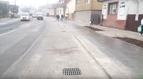 Fő utcai szakasz műszaki átadása Vörösváron