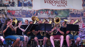 Fúvóskoncert a Vörösvári Napokon 2018.