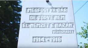 Hősök napi ünnepség Piliscsabán
