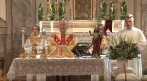 Húsvéti szentmise Pilisvörösváron