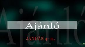 Műsoraink január 4-11.