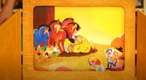 Ovis percek – A kék ló