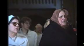 Képek a múltból Németnyelvű szentmise 1995