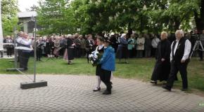 Kitelepítési ünnepség Solymáron – szentmise és koszorúzás