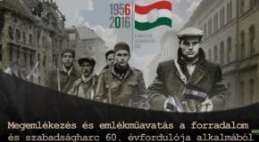 Október 23-i megemlékezés és emlékműavatás Piliscsabán