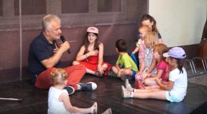 Mikola Péter zenés gyermekműsora