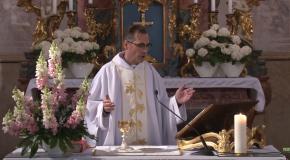 Húsvét negyedik vasárnapi szentmise Solymáron