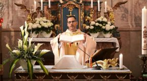 Húsvét második vasárnapi szentmise Solymáron
