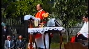 Képek a múltból – Pünkösdi szentmise 1990