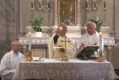Húsvét harmadik vasárnapi szentmise Pilisvörösváron (német nyelven)