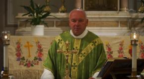 Német nyelvű szentmise Vörösvárról