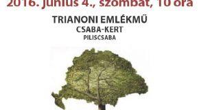 Trianoni megemlékezés Piliscsabán