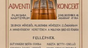 Adventi Nagykoncert Piliscsabán