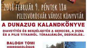 DUNAZUG KALANDKÖNYVE – könyvbemutató Pilisvörösváron