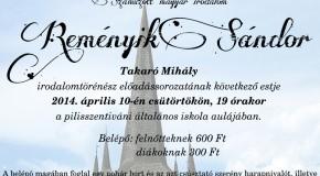 Száműzött magyar irodalom – Reményik Sándor