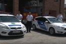 Rendőrautó-átadás Solymáron