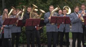 Szüreti zenés köszöntő Pilisvörösváron