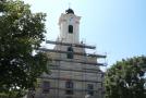 A solymári templom felújítása